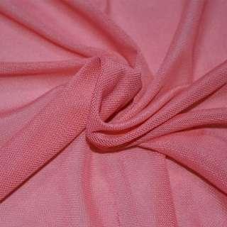 Сетка стрейчевая плотная темно розовая ш.160 оптом