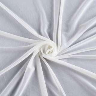 Сітка стрейчева щільна біла ш.160 оптом