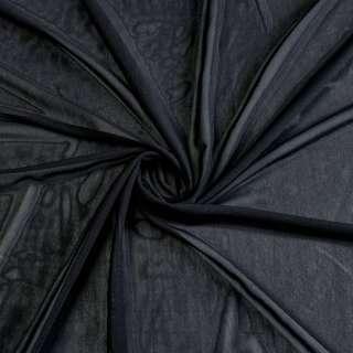 Сітка стрейчева щільна чорна ш.160 оптом