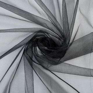 Сетка трикотажная черная, ш.155 оптом