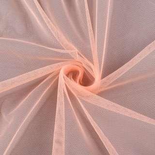 Сетка мягкая тонкая персиковая ш.150 оптом