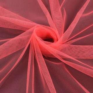 Сітка м'яка тонка рожево-помаранчева ш.150 оптом