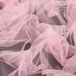 Сітка м'яка тонка пастельно-рожева, ш.165 оптом
