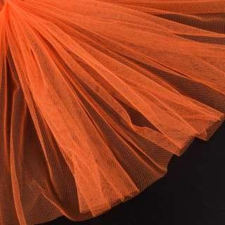 Сітка м'яка тонка оранжево-червона ш.165 оптом
