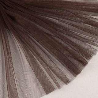 Сітка м'яка тонка коричнева темна ш.160 оптом