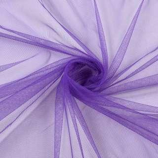 Сетка мягкая тонкая фиолетовая светлая, ш.165 оптом