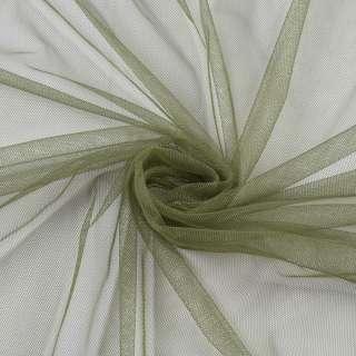 Сетка мелкая мягкая оливковая, ш.160 оптом