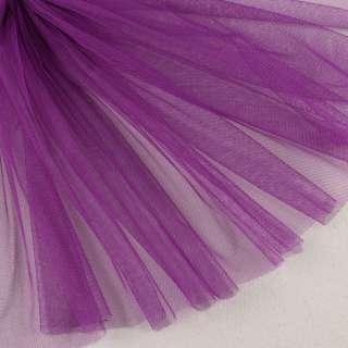 Сітка м'яка тонка фіолетова яскрава, ш.160 оптом
