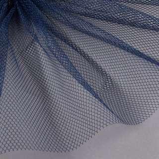 Сетка жесткая соты темно-синяя ш.150 оптом