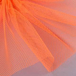Сетка жесткая соты оранжевая неоновая, ш.155 оптом