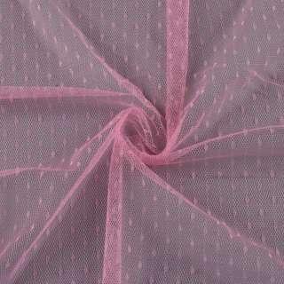 Сітка мушка дрібна рожева, ш.160 оптом