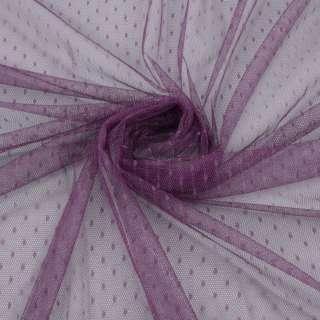 Сетка мушка мелкая фиолетовая сливовая, ш.160 оптом