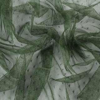 Сетка мушка мелкая оливковая, ш.155 оптом