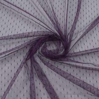 Сетка мушка мелкая фиолетовая темная, ш.150 оптом