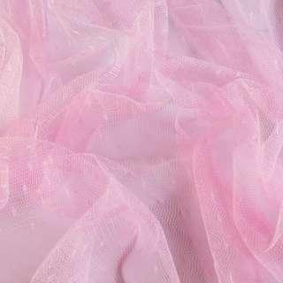 Сетка мушка мелкая розовая, ш.160 оптом