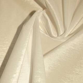 Тафта стрейч кремовая ш.150 оптом
