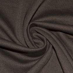 Трикотаж костюмный коричневый ш.150 оптом
