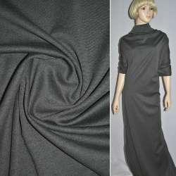 Трикотаж костюмный серый ш.150 оптом