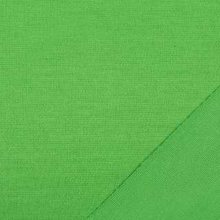 Трикотаж костюмный двухсторонний зеленый, ш.150 оптом