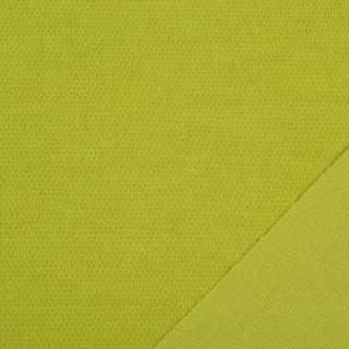 Трикотаж костюмный двухсторонний горчичный, ш.150 оптом
