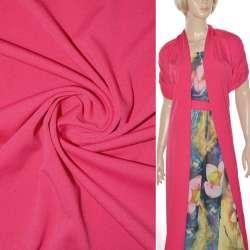 Трикотаж костюмный стрейч облегченный малиновый светлый ш.164
