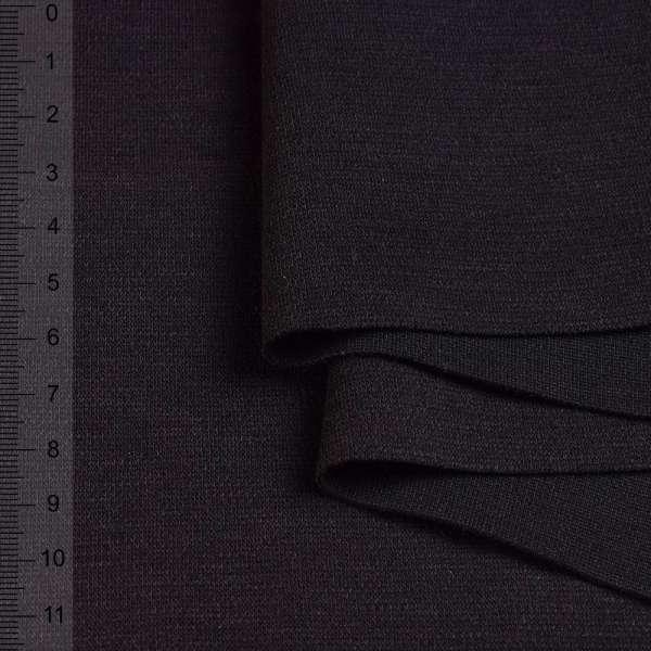 Французский трикотаж черный ш.170 оптом