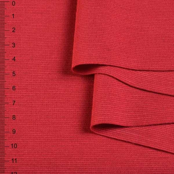 Французский трикотаж красный светлый ш.155 оптом