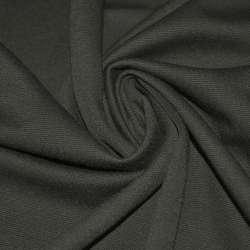 Французский трикотаж серый темный ш.160 оптом