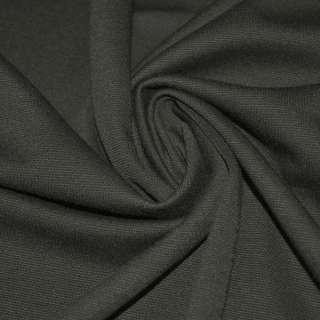 Трикотаж французький сірий темний ш.160 оптом