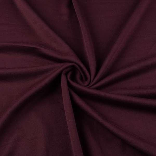 Французский трикотаж вишневый темный ш.175 оптом