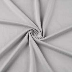 Французский трикотаж серый светлый ш.170 оптом