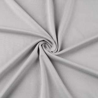 Трикотаж французький сірий світлий ш.170 оптом