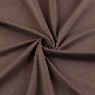 Трикотаж французький коричнево-червоний ш.150 оптом