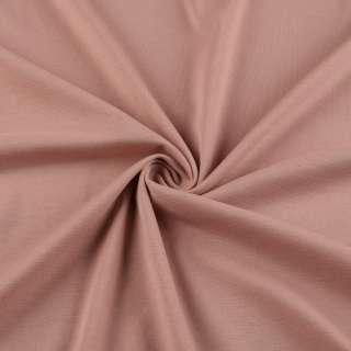 Трикотаж французький оранжево-рожевий ш.150 оптом