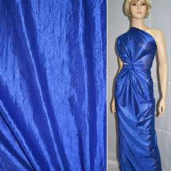 Кристаллон трикотажный синий ш.150 оптом