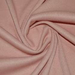 Трикотажная резинка персиковая темная ш.134 оптом