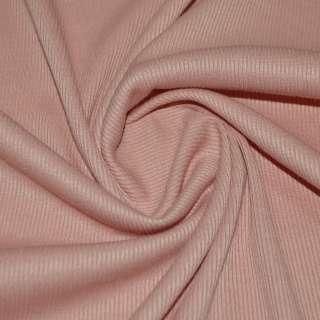 трикотажная резинка темно персиковая ш.134 оптом