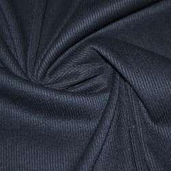 Трикотажная резинка синяя темная ш.134 оптом
