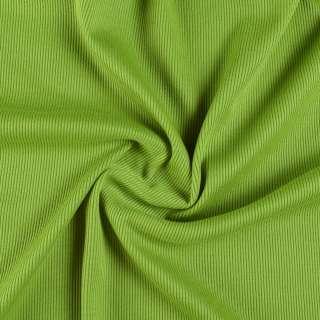 трикотажная резинка зеленая ш.130 оптом