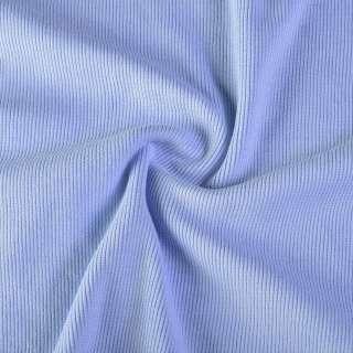 Резинка манжетная (рукав) голубая (бледно-васильковая) ш.116 оптом