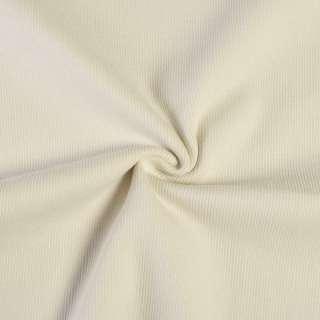 Трикотажное полотно резинка молочное, ш.94 оптом