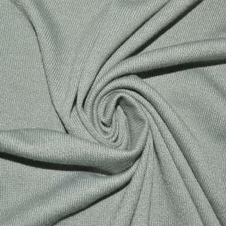 Трикотаж акриловый серый светлый ш.170 оптом