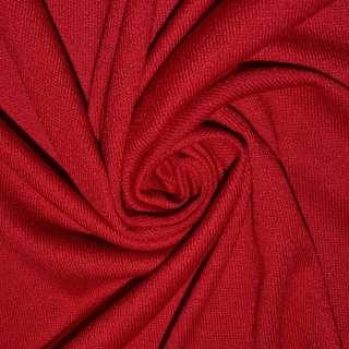 Трикотаж акриловый красный ш.180 оптом