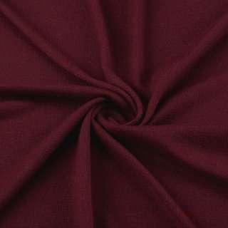 Трикотаж акриловый вишневый ш.180 оптом