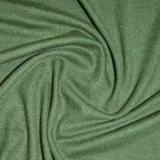 Трикотаж темно зеленый акриловый ш.170 оптом