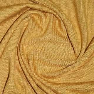 Трикотаж горчично золотистый акриловый ш.170 оптом