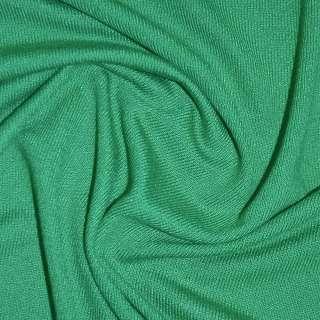 Трикотаж ярко зеленый акриловый ш.170 оптом