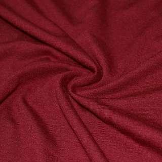 Трикотаж с вискозой бордовый ш.168 оптом