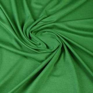 Вискоза с эластаном,тр-ж зеленый ш.170 оптом