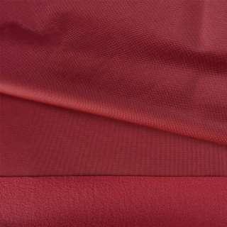 Трикотаж спорт с начесом бордовый ш.145 оптом